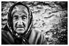 Old Lady in her World (Alek Stefan) Tags: portrait woman old street city streetphotography bw blackandwhite monochrome a7ii sony canonfd 135mm urban candid