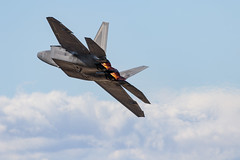 F-22 Raptor (Trent Bell) Tags: lancaster foxairfield airport losangelescounty airshow 2018 california aircraft military f22 raptor