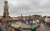Brugge Markt Pano... (keriarpi) Tags: belfort van brugge belgium europa europe cityscape travel traveling travelling monument fairytale town bruges holiday unesco city pano panorama world heritage building sky architecture square markt market place
