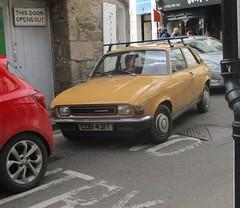 1979 Austin Allegro 1300 Super #3 (occama) Tags: cbd431t austin allegro 1300 super old car cornwall uk sandglow 2 door british leyland bl