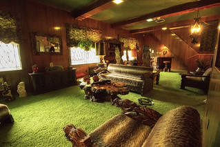 Jungle Room at Graceland - Memphis (Tennessee)