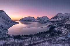 After sunset. (Reidar Trekkvold) Tags: bergsbotn senja xf1024ois fujifilm landscape mountains natur nature nordnorge norway sea seascape seaside sjø sunset troms vt2 vinter winter