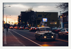 quest complete (chickentender™ (Eyewanders Foto)) Tags: car carquest classic classiccars drive drving fremont late niceride pentax road seattle street sunset