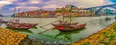 Porto (The Happy Traveller) Tags: portugal porto iberianpeninsula douroriver europeancity europe cloudsstormssunsetssunrises