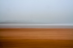 Beach and Horizon (Martin@Hutton) Tags: icm beach sea horizon sand sky horizontal