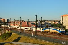 A Coruña (REGFA251013) Tags: renfe train tren galicia comboio coruña adif talgo camas