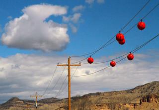 Six Orange Balls