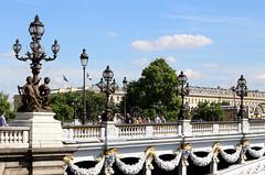 Sunny Paris (Anna Sikorskiy) Tags: paris france europe city cityscape bridge historic beauty architecture design sky sunlight streetphotography people urban life summer season canon annasikorskiy