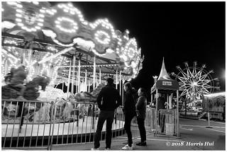 Carousel in Black & White - Lansdowne XT5529e