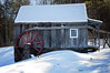 The Mill  11/52 (Boered) Tags: darla dog snow mill rockingham vermont 52weeksfordogs