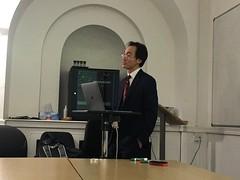 Nicholas Teh gives a Sigma Club lecture