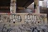 Slav, Slav (NJphotograffer) Tags: graffiti graff new jersey nj trackside rail railroad bridge slav