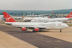 Boeing 747-219B G-VBEE (KenFCD) Tags: boeing 747200b gvbee gatwick virginatlantic