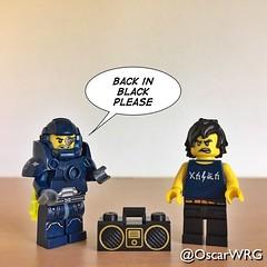 #LEGO_Galaxy_Patrol #LEGO #Cole #ACDC #BackInBlack (@OscarWRG) Tags: legogalaxypatrol lego cole acdc backinblack