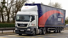 DK67 WBF (Martin's Online Photography) Tags: man tgx truck wagon lorry vehicle freight haulage commercial transport a580 leigh lancashire nikon nikond7200