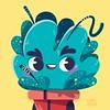 Plantita alienígena . #25 #planta #ilustracion #illustration #illustrator #adobeillustrator #characterdesign #character #color #plant #alien #flowerpot #vector (Ezequiel Terán) Tags: 25 planta ilustracion illustration illustrator adobeillustrator characterdesign character color plant alien flowerpot vector