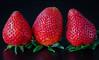 Spanish strawberries (frankmh) Tags: berry strawberry hittarp sweden indoor macro