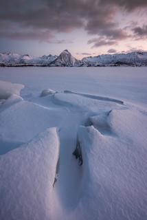Last Light in Vatnfjorden