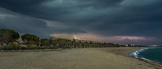 Thunderstorm - Orage sur Argelès sur Mer