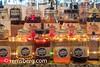 Mason Jars filled with moonshine lined up on a bar wall in Baltimore, MD (Remsberg Photos) Tags: baltimore alcohol homemade moonshine olesmoky tennessemoonshine fireflymoonshine pourspout masonjar spirits whiteliquor whitelightning choop hooch homebrew whitewhiskey mashliquor liquor distill maryland usa