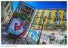 ASCENSOR DA GLORIA (manooolo7) Tags: tram lisboa lisbon ascensordagloria portugal graffiti amarelo 365dias picoftheday
