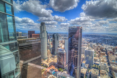 Another Grand View of the City of Angels (Michael F. Nyiri) Tags: wilshiregrand downtownlosangeles losangeles cityscape city usbanktower california building