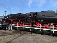 52 8079 auf der Drehscheibe (Thomas230660) Tags: dresden eisenbahn dampf dampflok steam steamtrain sony