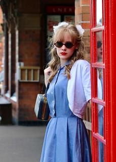 At the phone box