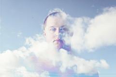 Head In The Clouds.... (JLC Photography Spokane,WA) Tags: selfportrait selfie spokane washington clouds bluesky photoshop creative conceptual abstract surreal man male guy doubleexposure shirtless april spring blueeyes canon