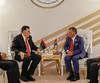 جلالة الملك عبدالله الثاني يلتقي رئيس المجلس الرئاسي لحكومة الوفاق الوطنـي الليبي فائز السراج على هامش أعمال القمة العربية (Royal Hashemite Court) Tags: kingabdullahii kingabdullah jordan libya saudiarabia ksa arab summit جلالة الملك عبدالله الثاني ليبيا الأردن السعودية القمة العربية فايز السراج fayez sarraj