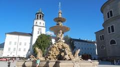 Salzburg, Residenzbrunnen [28.08.2014] (b16aug) Tags: altstadt austria aut geo:lat=4779850557 geo:lon=1304646388 geotagged salzburg