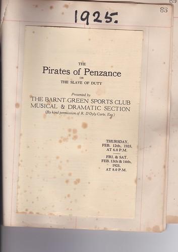 1925: Feb Programme 1