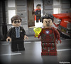 Time Stone (WattyBricks) Tags: lego marvel superheroes agent phil coulson dr doctor strange stephen tony stark iron man lola