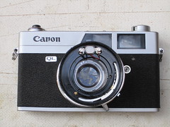 canonet ql19 SE (zaphad1) Tags: canonet ql19 se old type repair style disassembly removal lens shutter aperture ql 19 canon creative commons free photo