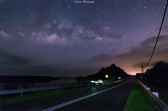 今晚来个不眠之夜 (Marcus Lim @ WK) Tags: milkyway road meteor star starry night nightscape nikon wide