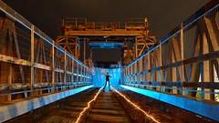 LPWA Australia Tour 2018: the Ferry Ramp (palateth) Tags: lightpainting lightart night nophotoshop singleexposure adelaide portrait aussielightart ferryramp sparklers