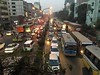 Dhaka traffic (olive witch) Tags: abeerhoque bangladesh bd dhaka feb18 february night outdoors portfolio street sunset traffic urban