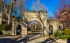 Hampton Court Arch (Eridony (Instagram: eridony_prime)) Tags: lexington fayettecounty kentucky northside gate arch