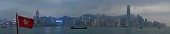 Hong Kong (-pieton-) Tags: hong kong panorama cityscape city china chine architecture port skyline skyscraper sea