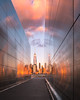 9-11 Empty Sky Memorial (RyanKirschnerImages) Tags: nyc freedomtower city newyorkcity newyork jerseycity sunset sunrise