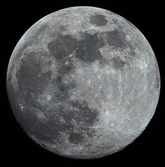 March Blue Moon (mariuszwysocki) Tags: moon lunar luna cosmos space universe nature crater solar system sky night skywatcher canon dslr telescope astronomy astro astrophotography bialystok poland science explore fullmoon blue moonlight photoshop processing photo shadows color contrast
