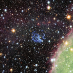Hubble view of the surroundings of a hidden neutron star in the Small Magellanic Cloud thumbnail