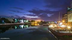 Pasig Blue (Jon Robiso) Tags: bluehour pasigriver sunset longexposure nightphotography nightshot manila philippines pentax pentaxph pentaxk3ii pinoypentaxian tamronaf1750mmf28xrdiiild tamron tamronph jonrobiso