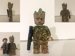 Custom LEGO Infinity War: Groot (Caruana Customs) Tags: iamgroot babygroot galaxy guardians infinitywar groot