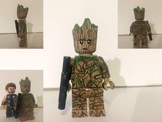 Custom LEGO Infinity War: Groot