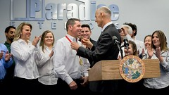 """Florida Governor Rick Scott Recognized Paradise Exteriors with The Governor's Business Ambassador Award • <a style=""""font-size:0.8em;"""" href=""""http://www.flickr.com/photos/153301425@N08/39953679395/"""" target=""""_blank"""">View on Flickr</a>"""