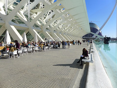 People Relaxing in Valencia