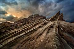 Glory Rock (TomGrubbe) Tags: vasquezrocks vasquez rocks clouds drama palmdale aguadulce longexposure california landscape