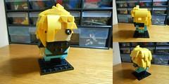 Gourry Gabriev (from 41597) (TheHunBear) Tags: lego toy moc slayers brickheadz