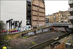 (Alex Ellison) Tags: they fireextinguishertag ksm eastlondon urban graffiti graff tag shoreditch boobs